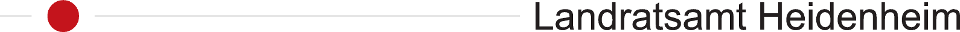 banner text: Landratsamt Heidenheim