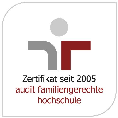 Zertifikat Familiengerechte Hochschule